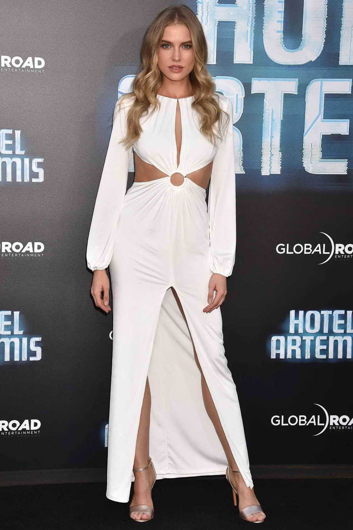 Tanya Mityushina at the Hotel Artemis Premiere in Westwood 05/19/2018-1