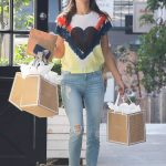 Alessandra Ambrosio Arrives at the Sugar Paper Store in Brentwood 06/12/2018-4