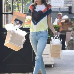 Alessandra Ambrosio Arrives at the Sugar Paper Store in Brentwood 06/12/2018-5