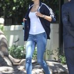 Alessandra Ambrosio Heads to Her SUV in Los Angeles 06/25/2018-5