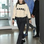 Bella Hadid Arrives at Malpensa Airport in Milan 06/17/2018-3