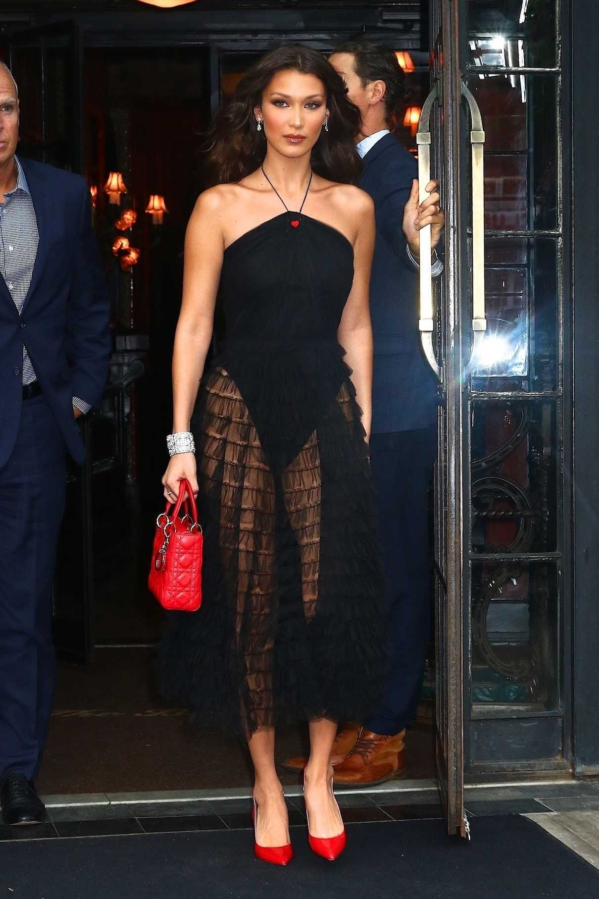 Bella Hadid Leaves the Bowery Hotel in New York City 06/07/2018-1