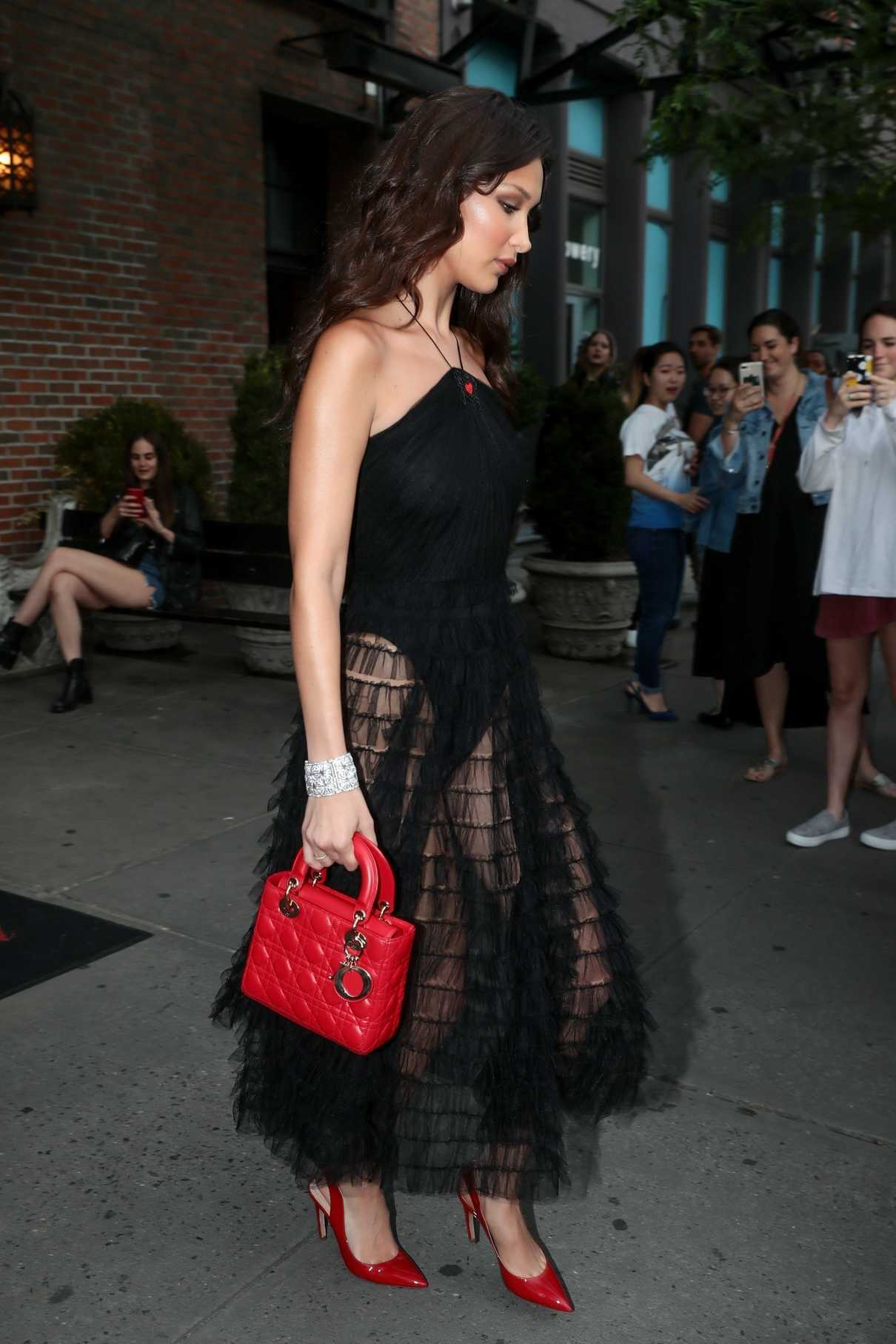 Bella Hadid Leaves the Bowery Hotel in New York City 06/07/2018-4