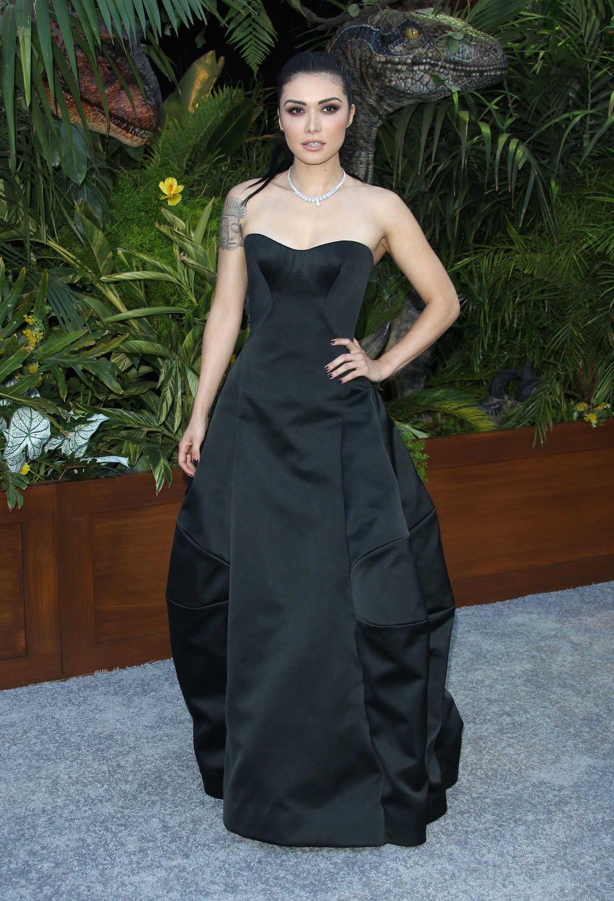 Daniella Pineda at Jurassic World: Fallen Kingdom Premiere in Los Angeles 06/12/2018-1