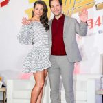Evangeline Lilly at the Ant-Man and the Wasp Press Conference in Taipei 06/12/2018-3
