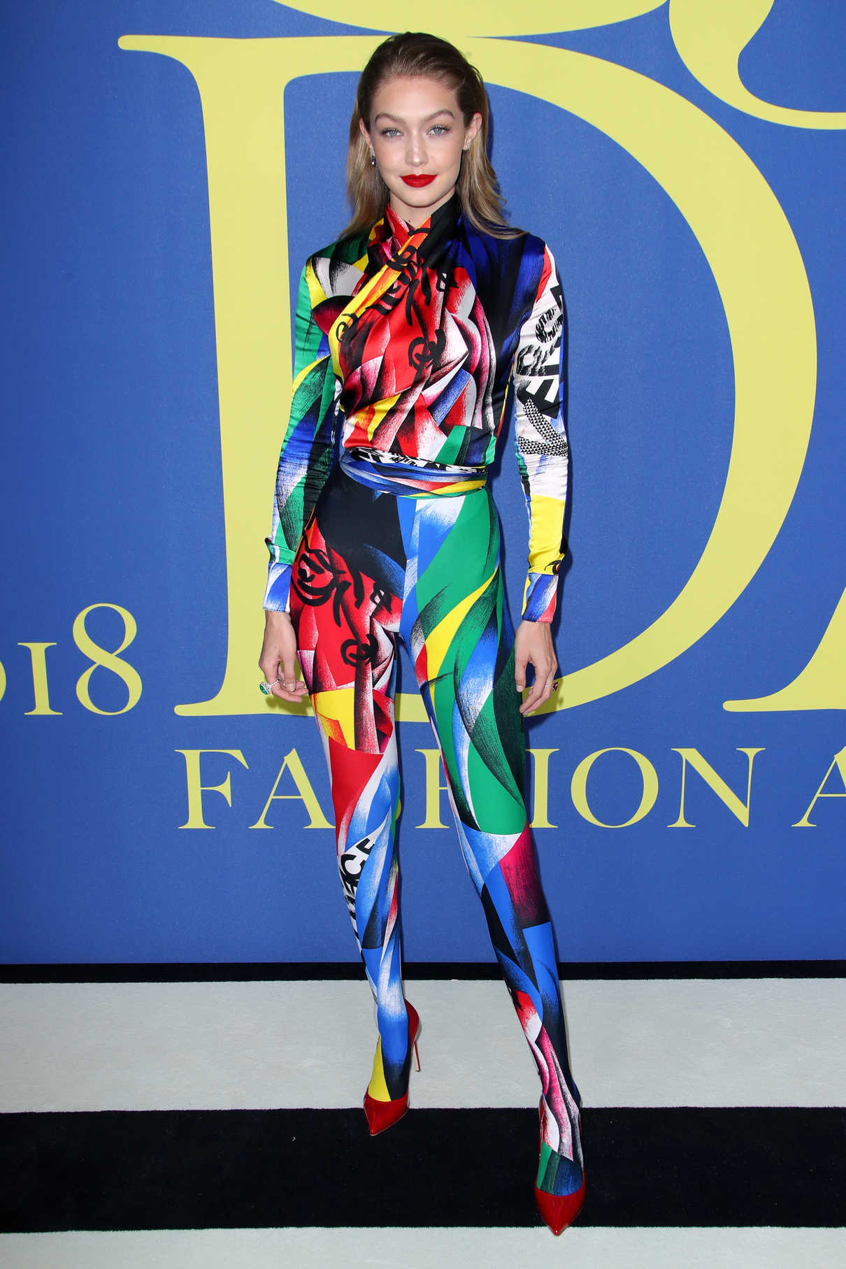 Gigi Hadid at 2018 CFDA Fashion Awards at Brooklyn Museum in New York City 06/04/2018-1