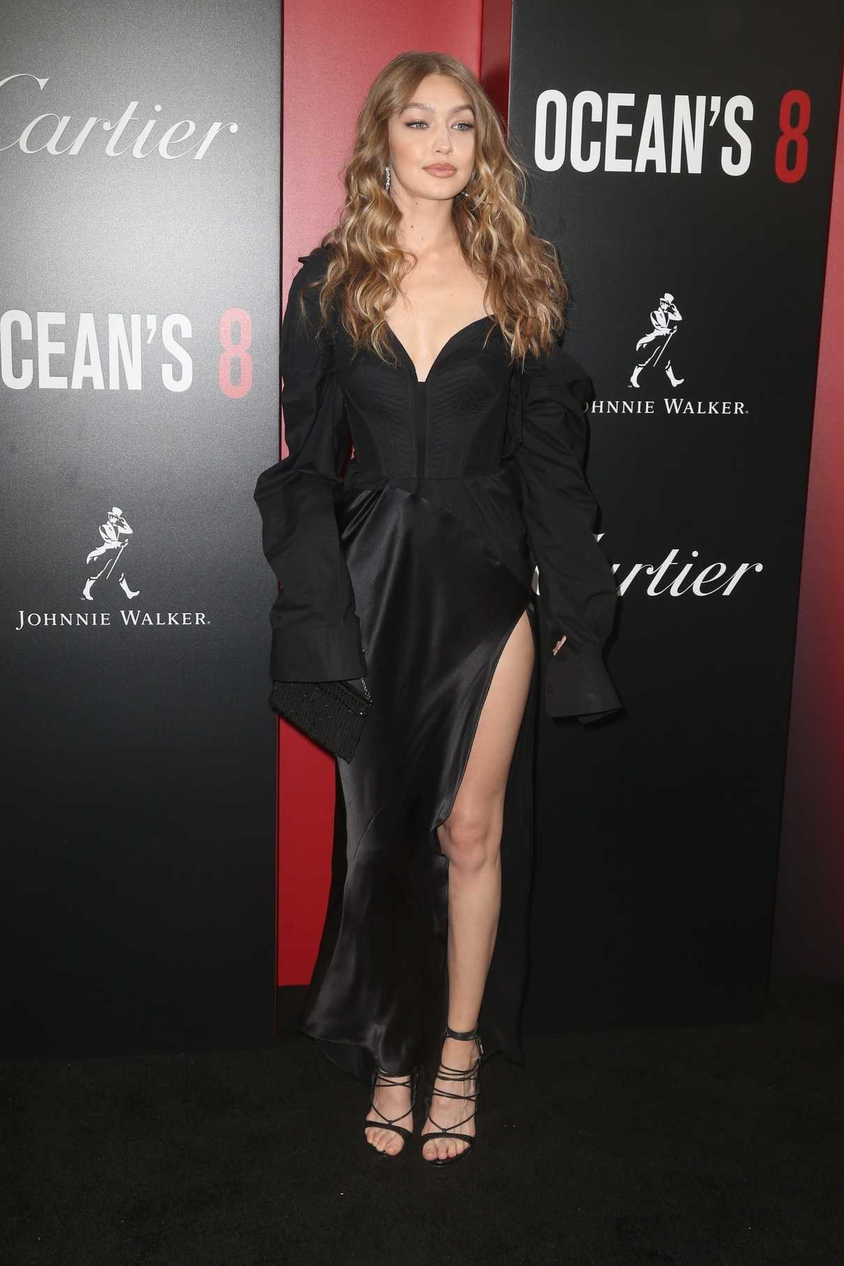Gigi Hadid at Ocean's 8 Premiere in New York 06/05/2018-1