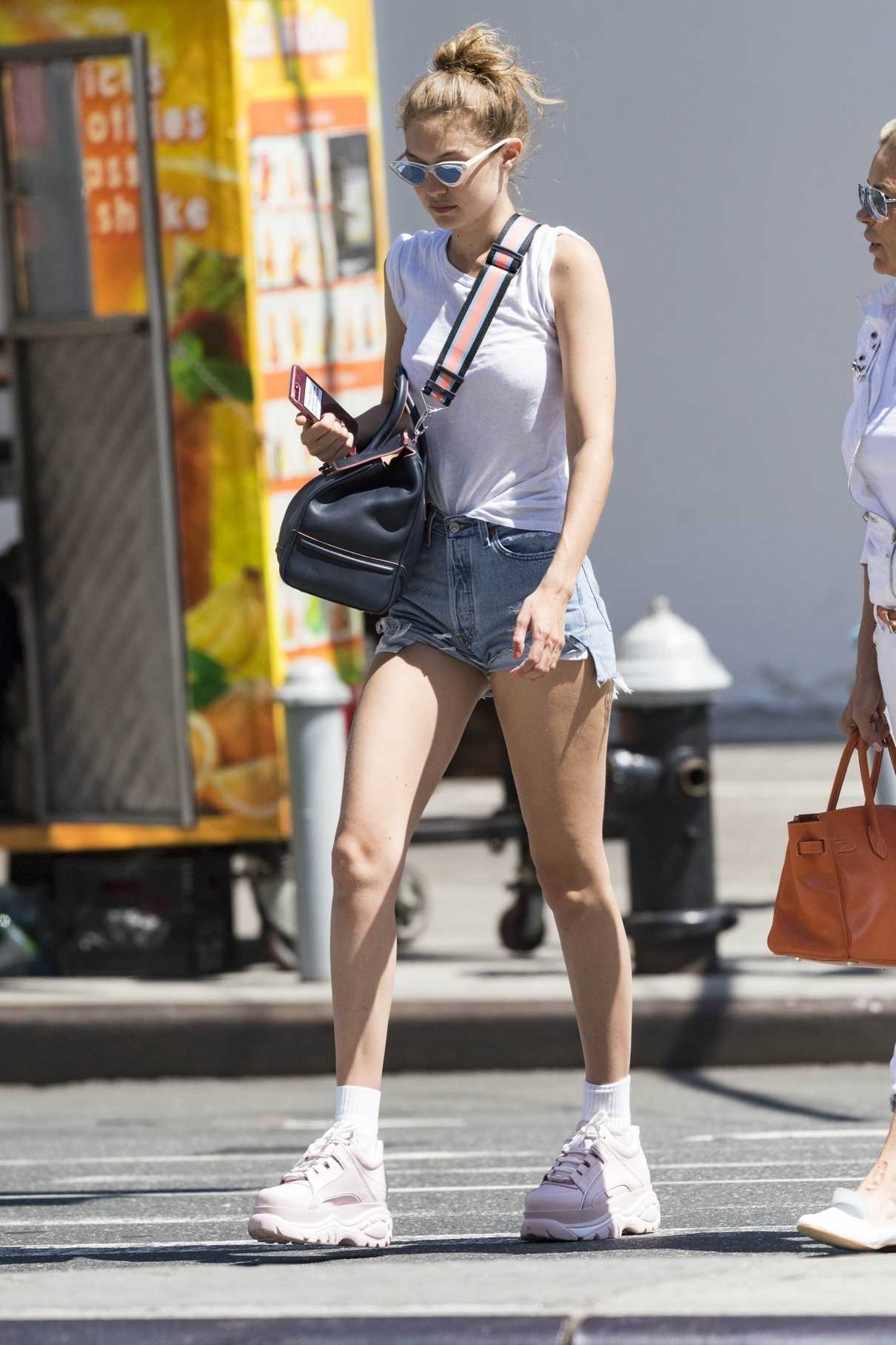 Gigi Hadid Was Seen Out in New York City 06/25/2018-1