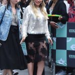 Hilary Duff Arrives at the AOL Build Series in New York City 06/05/2018-2