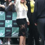 Hilary Duff Arrives at the AOL Build Series in New York City 06/05/2018-4