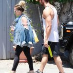 Hilary Duff Heads to the Gym in Studio City 06/18/2018-5