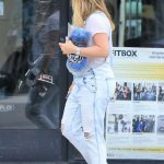 Hilary Duff Leaves Fitbox in Los Angeles 06/15/2018-3