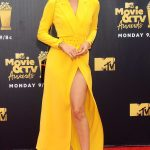 Jasmine Sanders Attends the 2018 MTV Movie and TV Awards in Santa Monica 06/16/2018-2