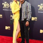 Jasmine Sanders Attends the 2018 MTV Movie and TV Awards in Santa Monica 06/16/2018-4