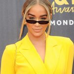 Jasmine Sanders Attends the 2018 MTV Movie and TV Awards in Santa Monica 06/16/2018-5