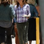 Jennifer Garner on the Set of the HBO Series Camping in Los Angeles 06/25/2018-3