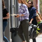 Jennifer Garner on the Set of the HBO Series Camping in Los Angeles 06/25/2018-5