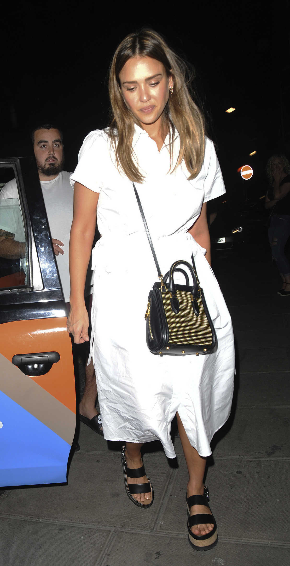 Jessica Alba Night Out at Chiltern Firehouse in London 06/26/2018-1