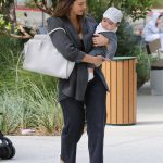 Jessica Alba Takes Adorable Baby Boy Hayes to The Honest Office in Los Angeles 06/19/2018-2