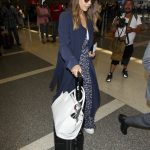 Jessica Alba Was Spotted at LAX Airport in Los Angeles 06/10/2018-4