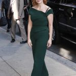 Jessica Chastain Arrives at The Late Show with Stephen Colbert in New York City 06/25/2018-3