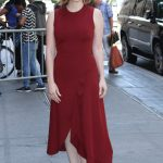 Jessica Chastain Arrives at The View Show in New York 06/26/2018-3