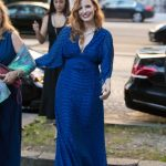 Jessica Chastain Leaves the Shangri-La Hotel in Paris 06/18/2018-3
