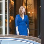 Jessica Chastain Leaves the Shangri-La Hotel in Paris 06/18/2018-4