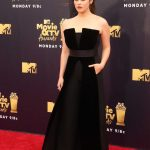 Katherine Langford Attends the 2018 MTV Movie and TV Awards in Santa Monica 06/16/2018-2