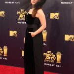 Katherine Langford Attends the 2018 MTV Movie and TV Awards in Santa Monica 06/16/2018-3