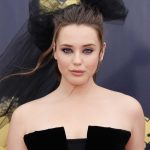 Katherine Langford Attends the 2018 MTV Movie and TV Awards in Santa Monica 06/16/2018-5