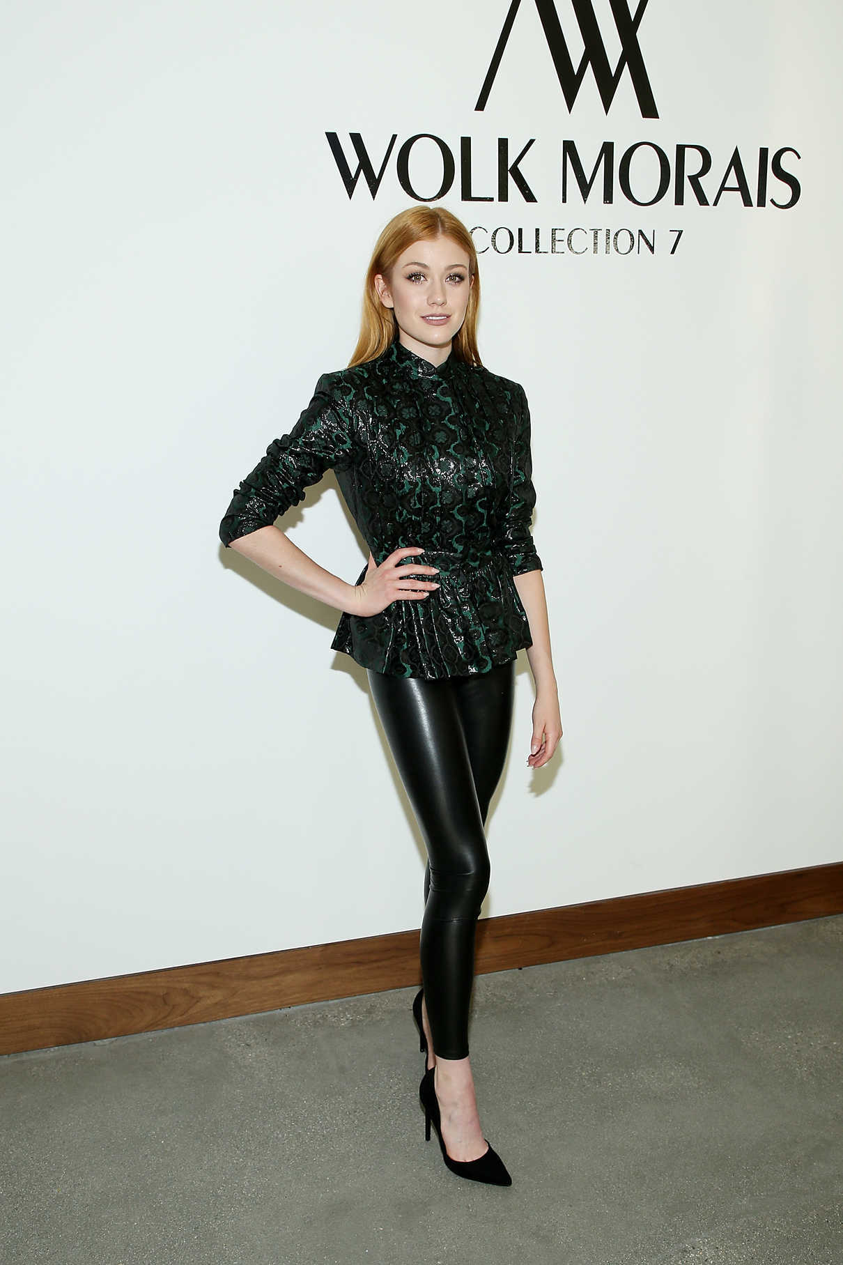 Katherine McNamara at the Wolk Morais Collection 7 Fashion Show at The Jeremy Hotel in Los Angeles 06/26/2018-1