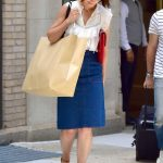 Katie Holmes Out Shopping in New York 06/21/2018-3
