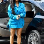 Kim Kardashian Arrives at Louis Vuitton Fashion Show in Paris 06/21/2018-2