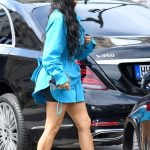 Kim Kardashian Arrives at Louis Vuitton Fashion Show in Paris 06/21/2018-3