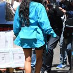 Kim Kardashian Arrives at Louis Vuitton Fashion Show in Paris 06/21/2018-5