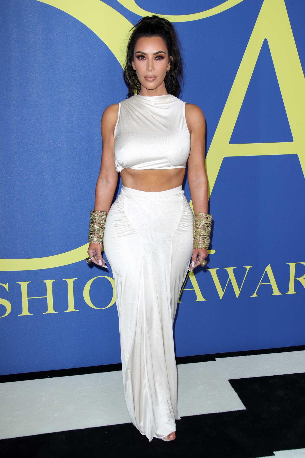 Kim Kardashian at 2018 CFDA Fashion Awards at Brooklyn Museum in New York City 06/04/2018-1