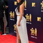 Kim Kardashian Attends the 2018 MTV Movie and TV Awards in Santa Monica 06/16/2018-3