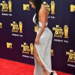 Kim Kardashian Attends the 2018 MTV Movie and TV Awards in Santa Monica 06/16/2018-4