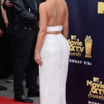 Kim Kardashian Attends the 2018 MTV Movie and TV Awards in Santa Monica 06/16/2018-5