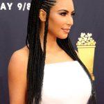 Kim Kardashian Attends the 2018 MTV Movie and TV Awards in Santa Monica 06/16/2018-6