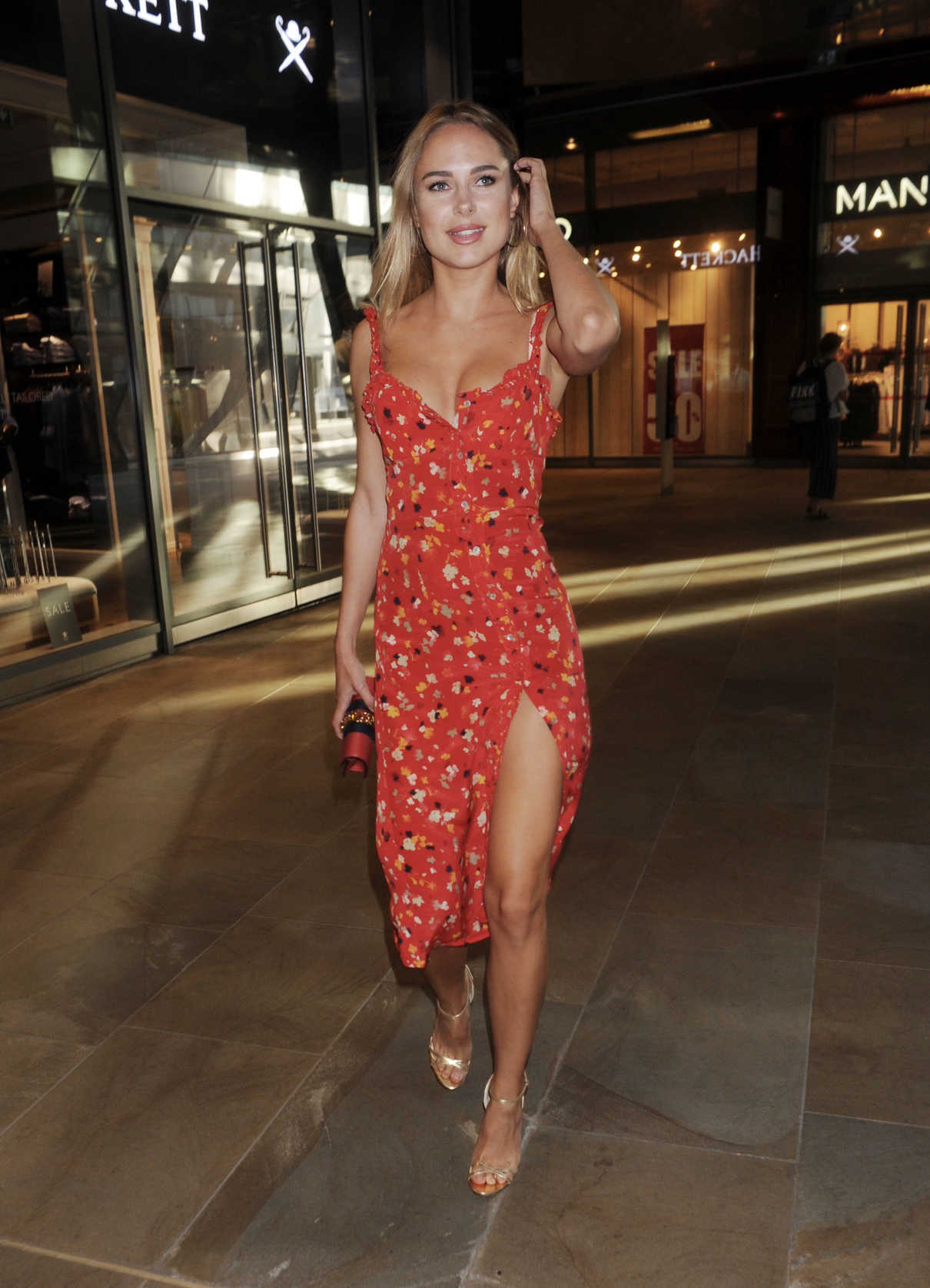 Kimberley Garner Arrives at Madison Rooftop Summer Party in London 06/26/2018-1
