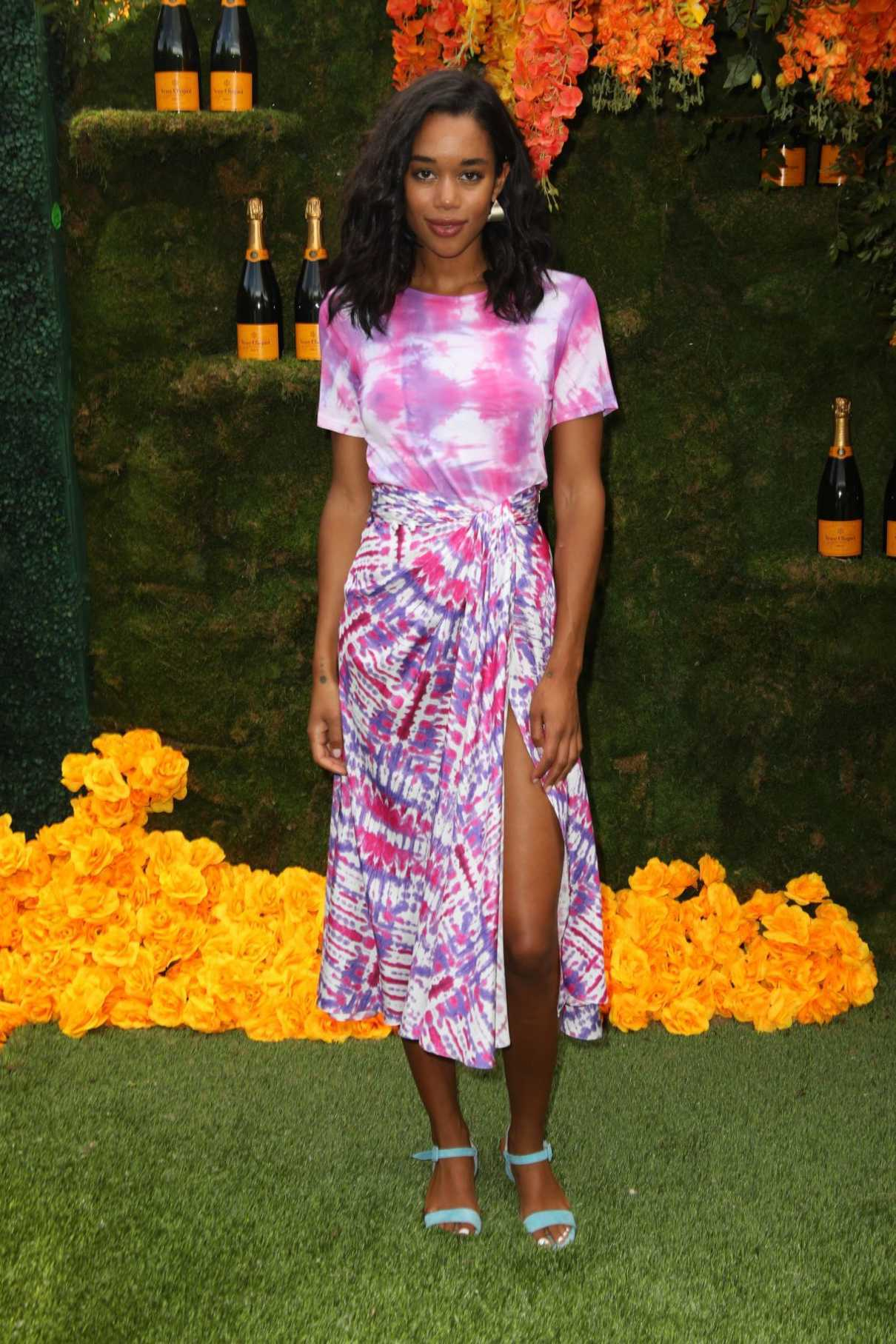 Laura Harrier at the 11th Annual Veuve Clicquot Polo Classic in New Jersey 06/02/2018-1