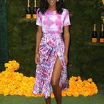 Laura Harrier at the 11th Annual Veuve Clicquot Polo Classic in New Jersey 06/02/2018-2