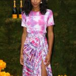 Laura Harrier at the 11th Annual Veuve Clicquot Polo Classic in New Jersey 06/02/2018-3