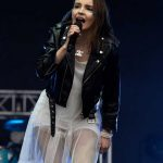 Lauren Mayberry Performs During the Parklife Festival at Heaton Park in Manchester 06/10/2018-2