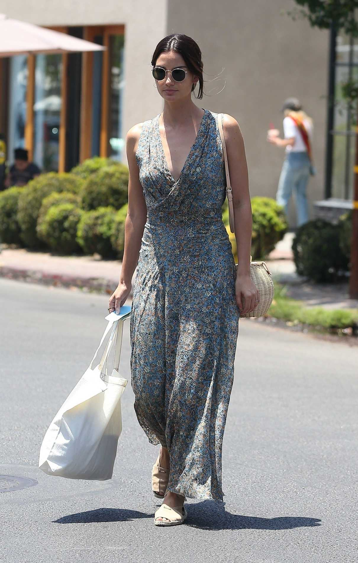 Lily Aldridge Does Some Shopping at Isabel Marant in West Hollywood 06/20/2018-1