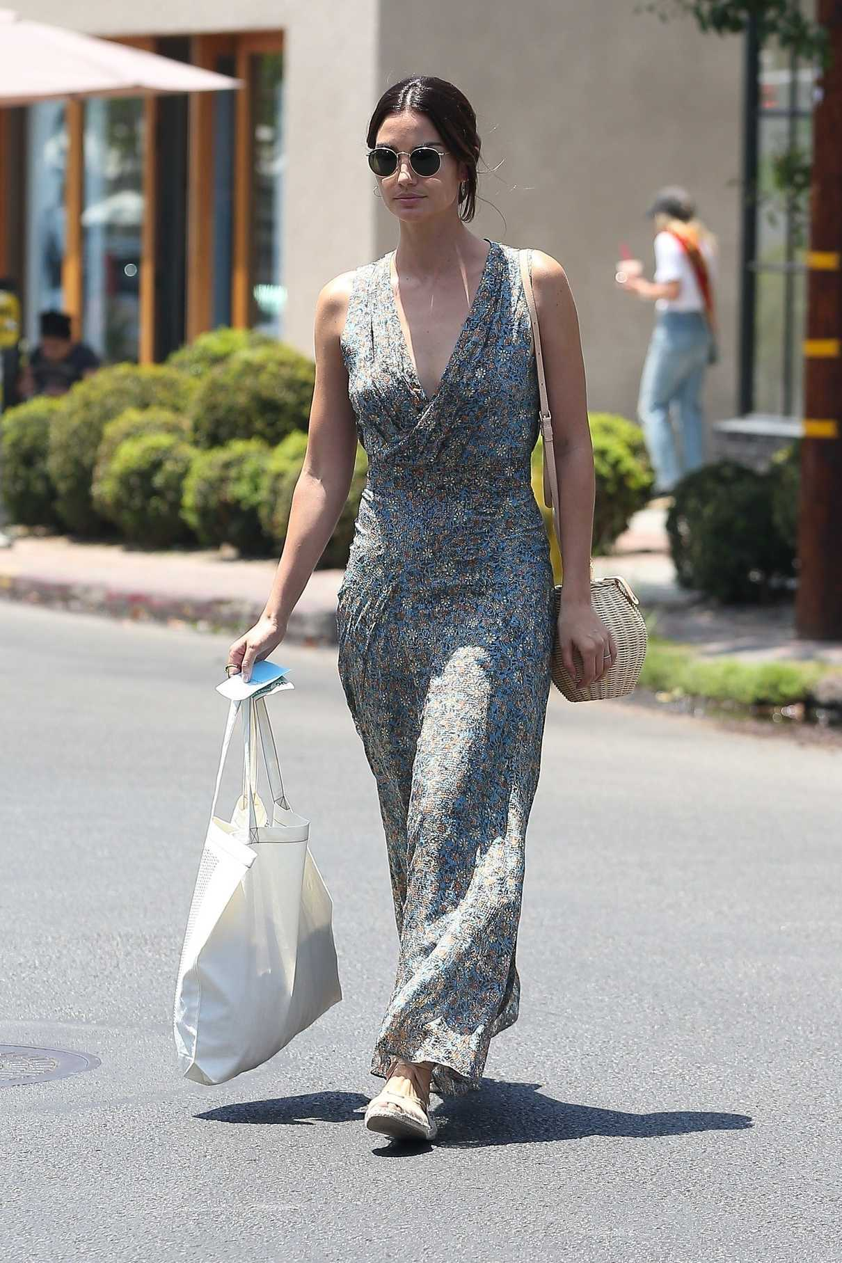Lily Aldridge Does Some Shopping at Isabel Marant in West Hollywood 06/20/2018-3