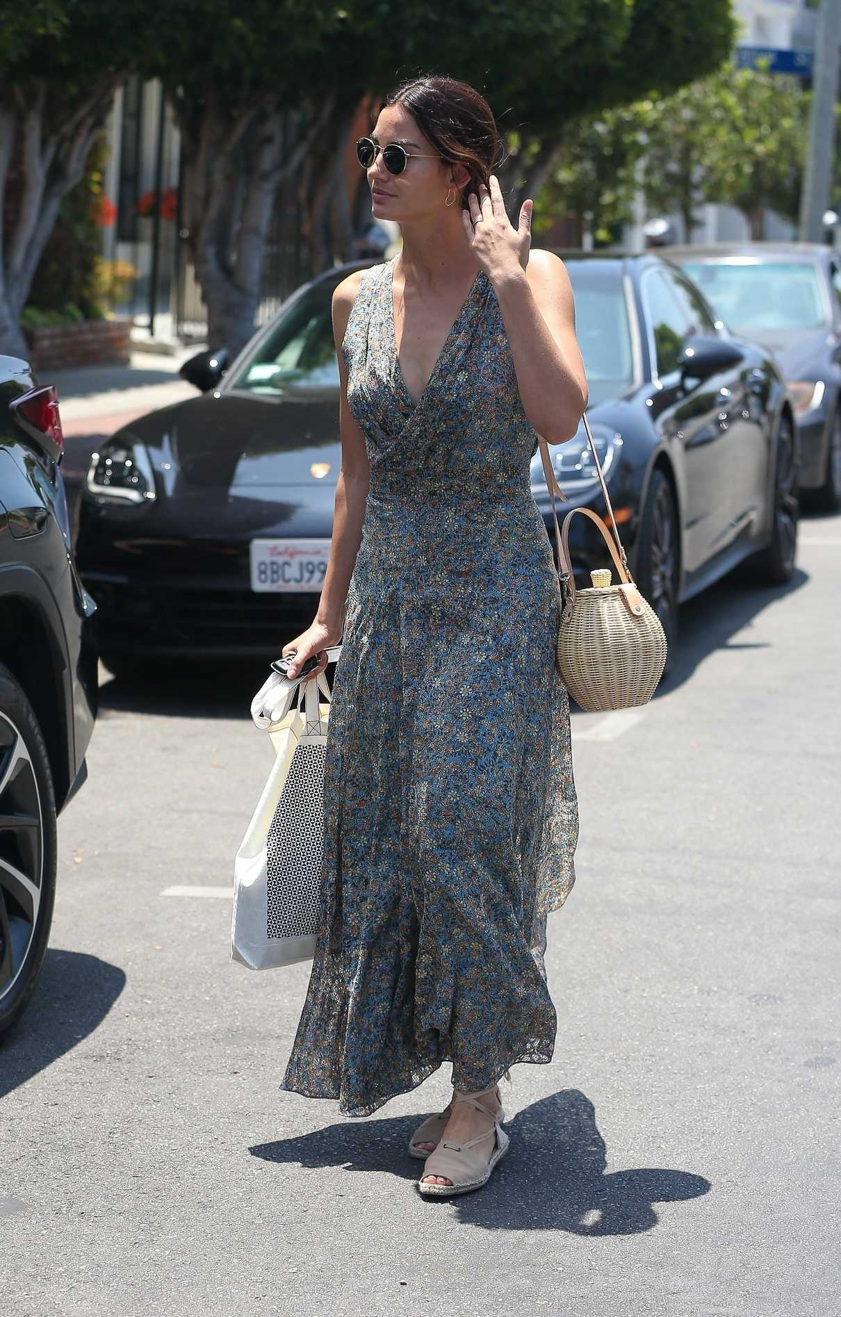 Lily Aldridge Does Some Shopping at Isabel Marant in West Hollywood 06/20/2018-4