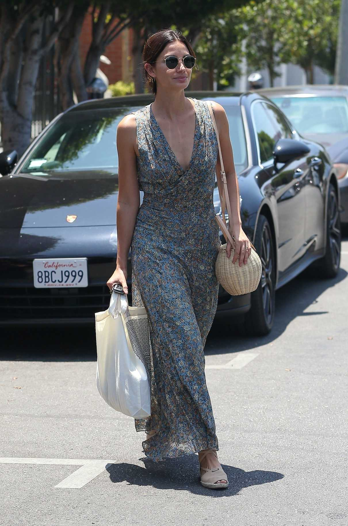 Lily Aldridge Does Some Shopping at Isabel Marant in West Hollywood 06/20/2018-5
